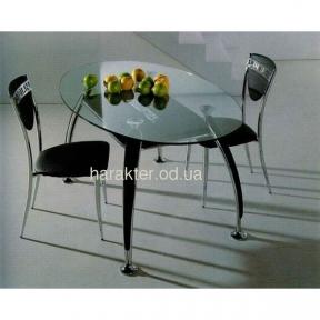 Комплект Стол В2087 + 4 стула С3102