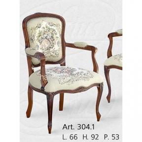 кресло деревянное Италия  ФС 304.1