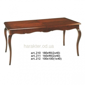 стол раскладной классика ФС 210 Италия
