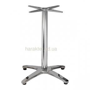 Опора для стола, алюминиевая AL0401-73, высота 73 см мдс