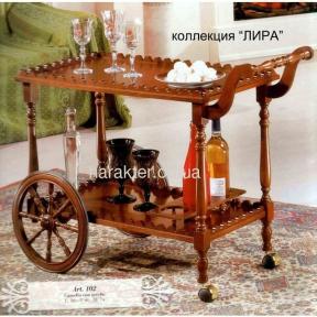 Столик-тележка арт.102 лира