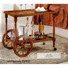 Столик-тележка, сервировочная тележка арт.105 лира