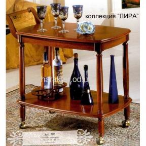 Сервировочный столик-тележка арт.106 лира