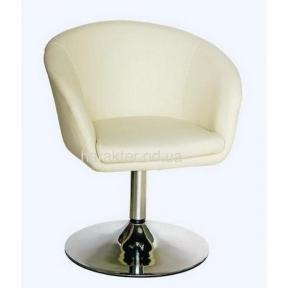 Кресло МУРАТ экокожа чёрный, бежевый, красный,  синий, коричневый