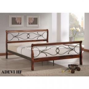Кровать двуспальная Adevi-HF ковка-дерево160 х 200 ом