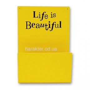 Полка «Life is Beautiful»