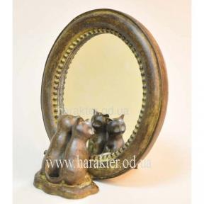 Зеркало (Кошки) 16*19 см КС101328