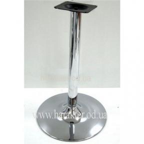 Опора для стола, хромированная SH72, высота 72 см мдс