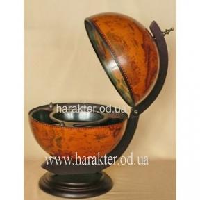 Глобус бар настольный 420 мм коричневый 42002R