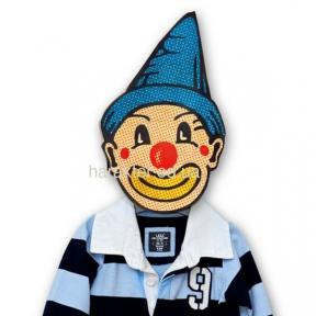 Вешалка «Удивленный клоун »