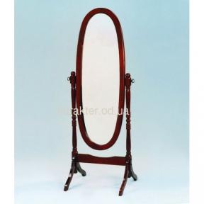 Зеркало вращающееся (дерево), зеркало переносное, зеркало напольное MS-8007-C ом