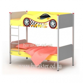 Двоповерхове ліжко Dr-12 матрас 90*200