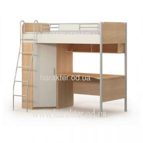 Кровать со столом и шкафом, Ліжко+стіл+шафа М-16-2