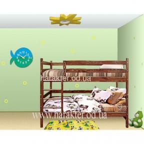 Кровать двухъярусная трансформер - превращается в две отдельные кровати из сосны