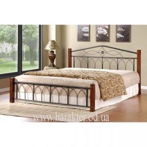 Кровать Миранда двуспальная, каштан