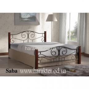 кровать двуспальная Saba 140*200, 160*200 ом