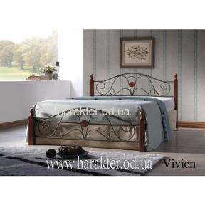 кровать двуспальная Vivien 140*200, 160*200 ом