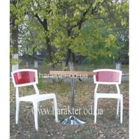 Пластиковые стулья ОРЛИ пластик белый мдс