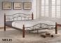 кровать двуспальная Melis 180*200