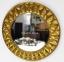 Дзеркало Круг 80 см, метал, скло, ГП21020