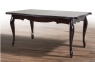 Стол обеденный деревянный раскладной Роял цвет венге, темный орех мм