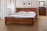 Кровать двуспальная Ланита, массив ольхи