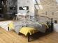 Металлическая двуспальная кровать Виола те