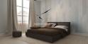 Кровать двуспальная Toronto дерево, ткань вс