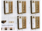 шкаф-купе длиной 1,4(1,5, 1,6, 1,7, 1,8, 1,9 м) глубиной 0,6 м или 0,45 м высотой 2,1м