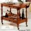 Сервировочная тележка, столик-тележка 4 ящика арт.104 лира