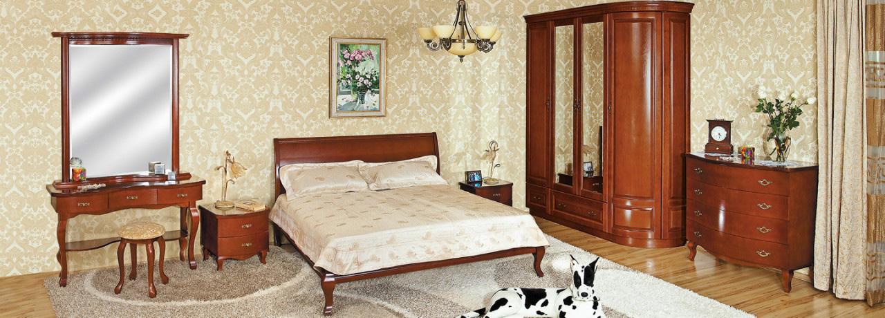 Классическая мебель для спальни Диарсио